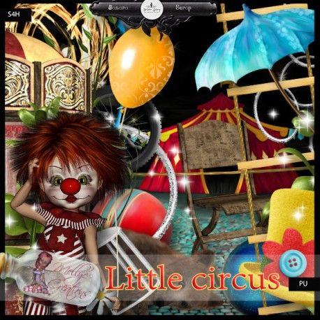 Kit Little Circus de Mellye creations