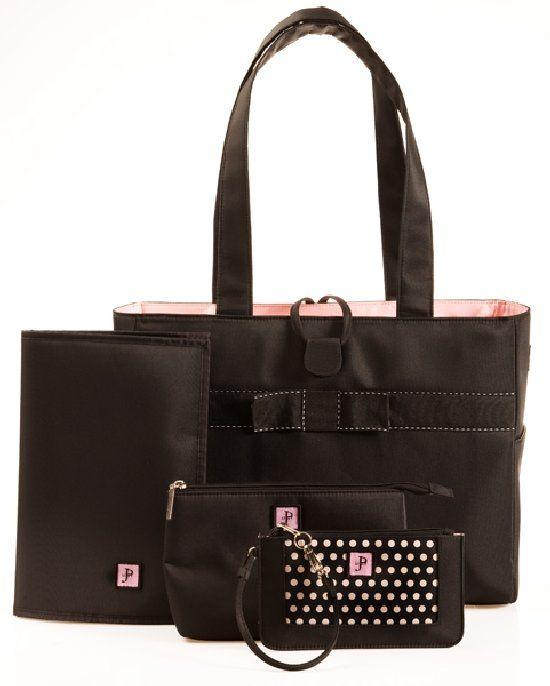 295fb655b816 Tiffany in Pink Classic Tote Set - Designer Baby Diaper Bags