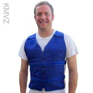 Adjustable Zipper Cooling Vest With 5 12 4 5 X 6 Kool Max