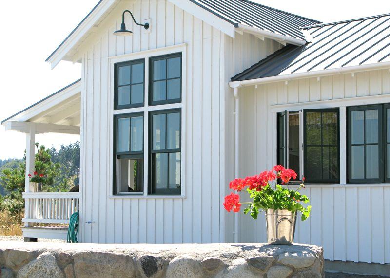 Crab Point Cottage Exterior Modern Farmhouse Exterior Farmhouse Exterior