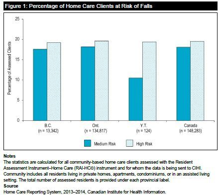 This Figure Shows The Percentage Of Home Care Clients At Risk Of