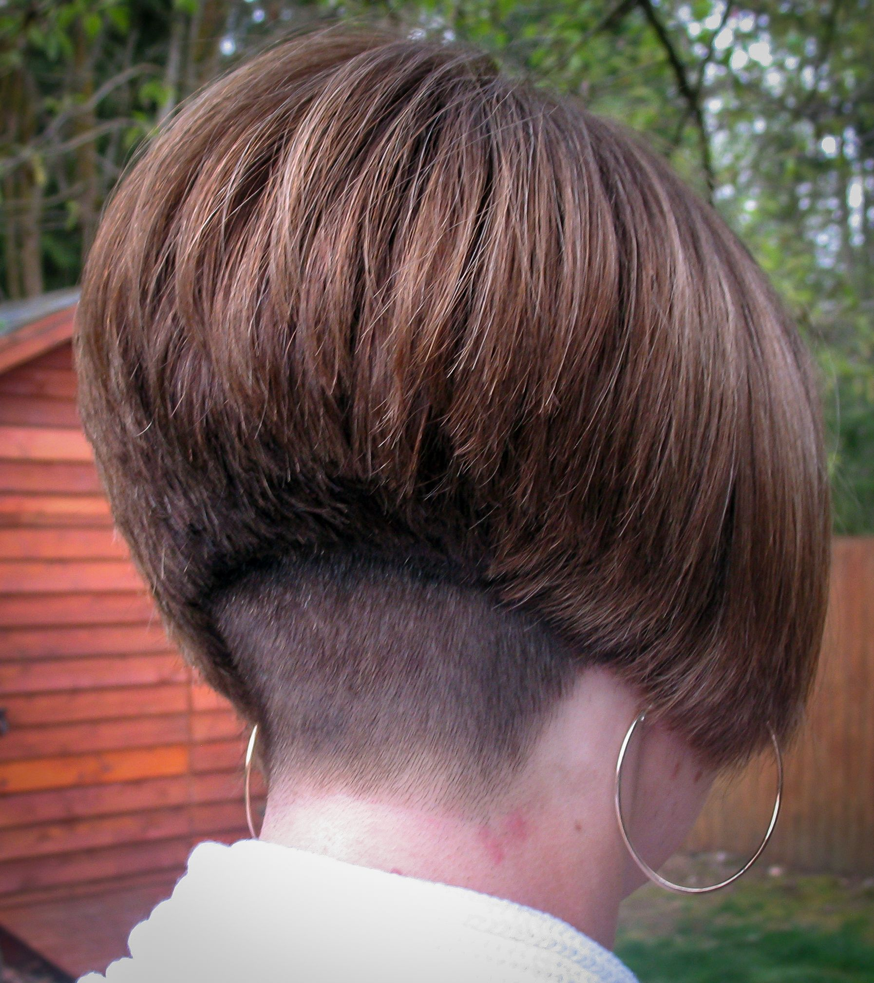 Now That Is A Short Buzzed Nape And Taper Hair Bobs And Bobbed
