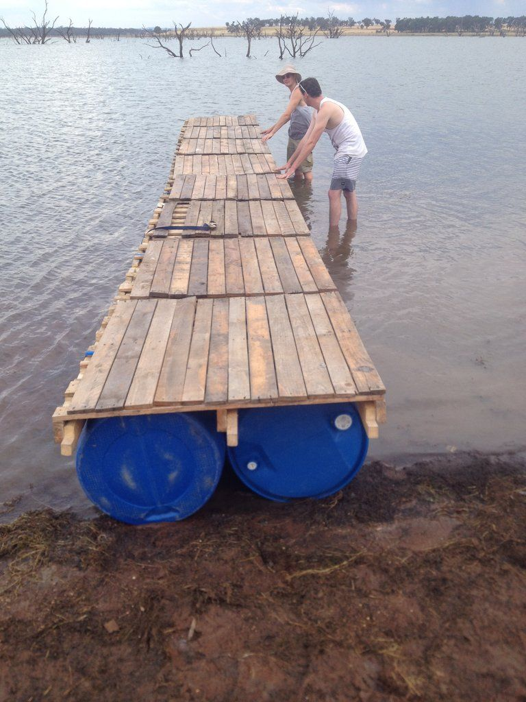 Transportable Pontoon made of recycled materials - Imgur