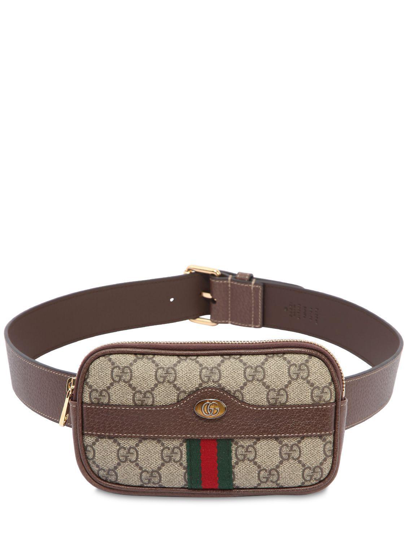 d18e1b6a143c GUCCI MINI OPHIDIA GG SUPREME BELT PACK.  gucci  bags  leather  belt bags   lace