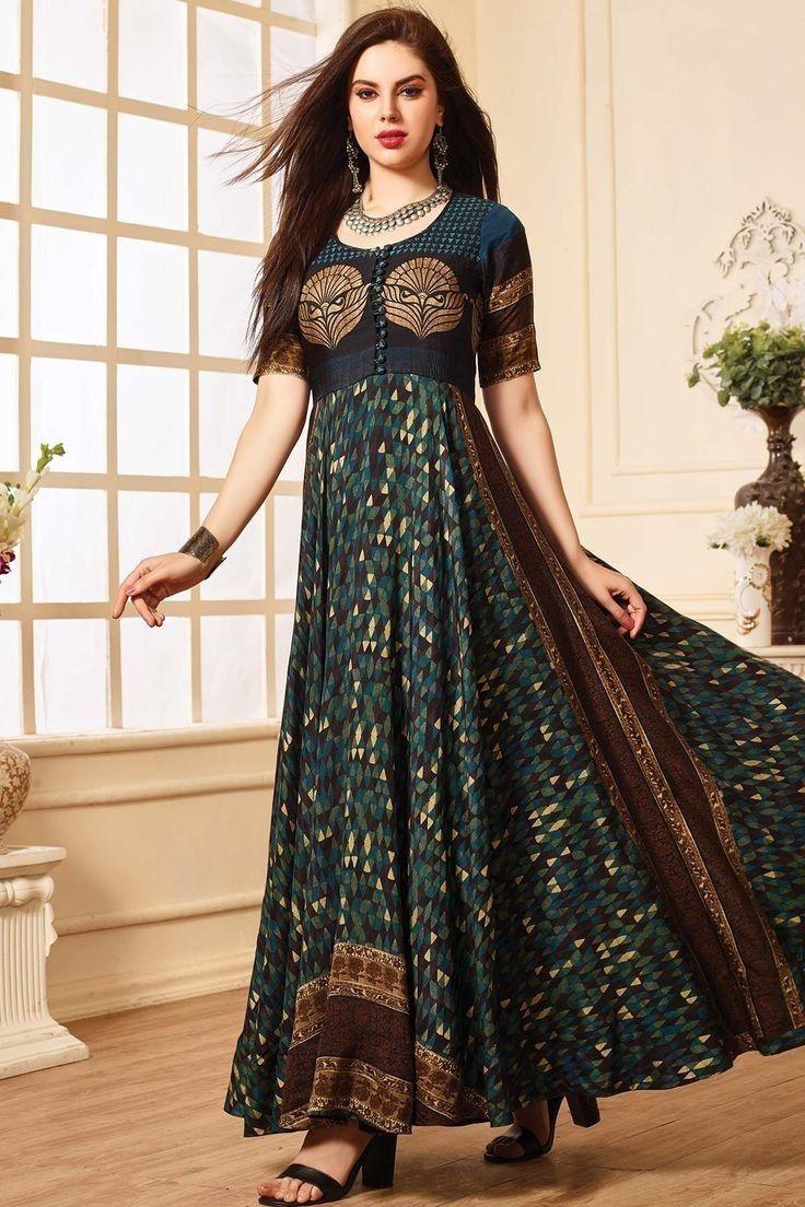 Long kurti k pinterest kurti kurtis and indian designer wear
