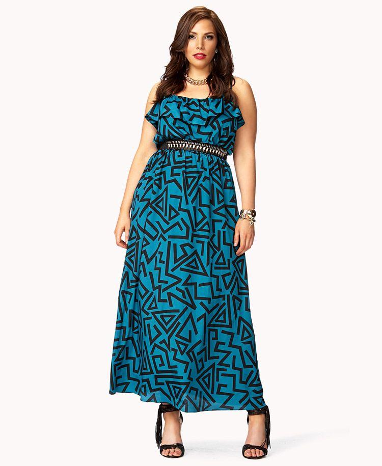 Forever 21 plus dresses sale