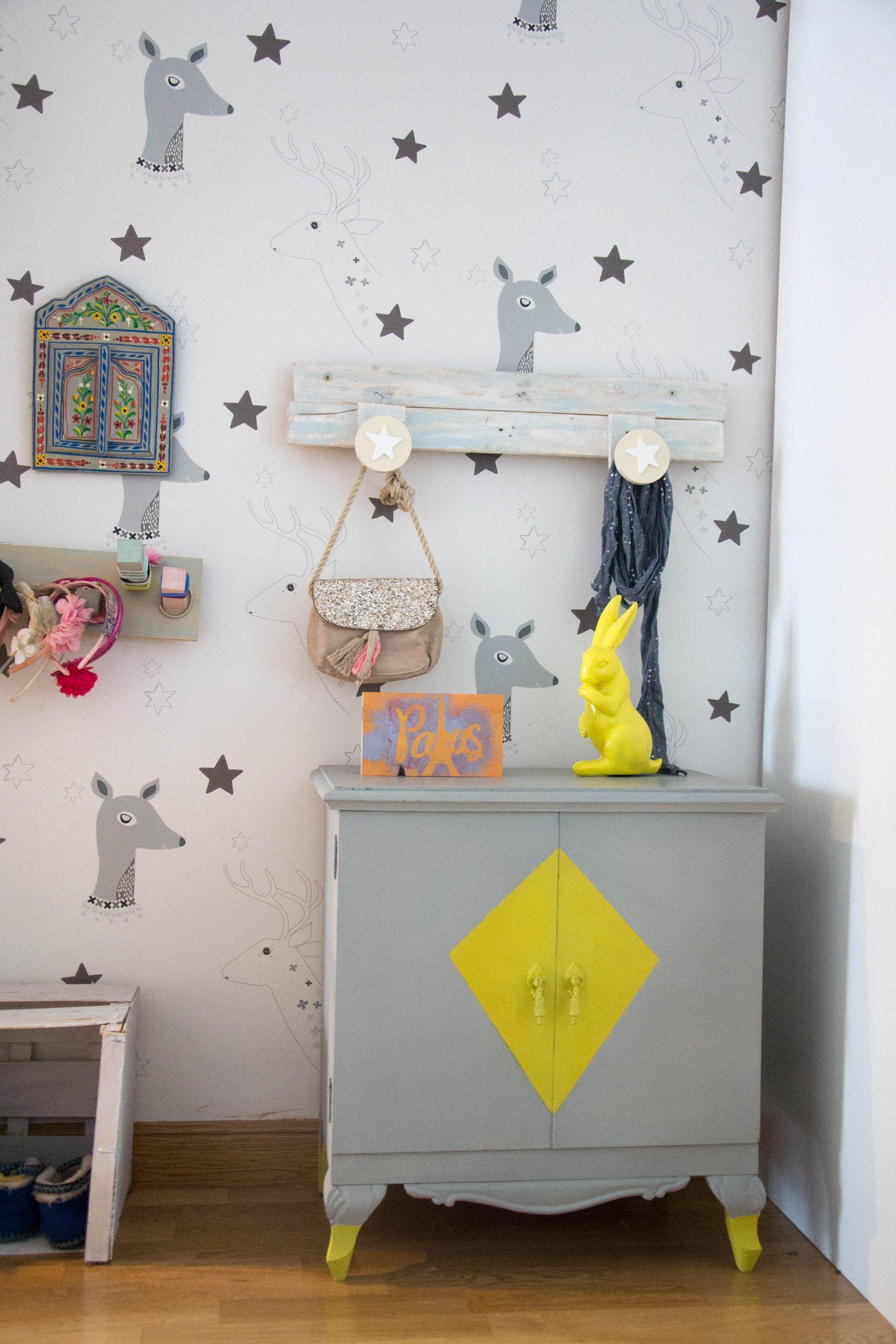 kids, room, deco, niños, chalk paint, diy , muebles antiguos decorar ...
