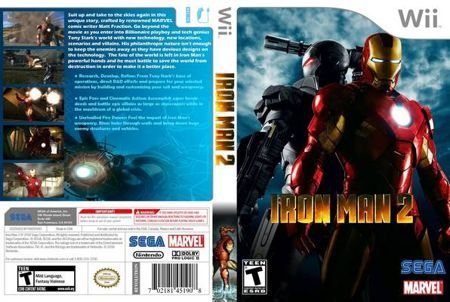 Wii Games The Ironman 2 All In One Marvel Games All In One
