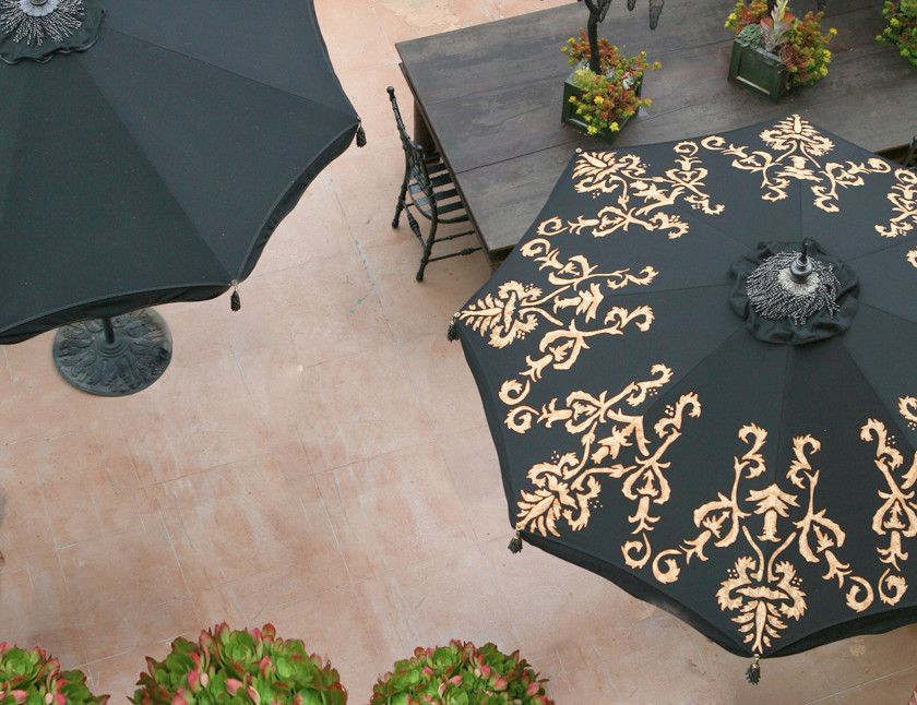 Woodard Patio Furniture Patio Traditional With Custom Patio Umbrellas  Decorative Patio Umbrellas Desert Garden Hedge Row