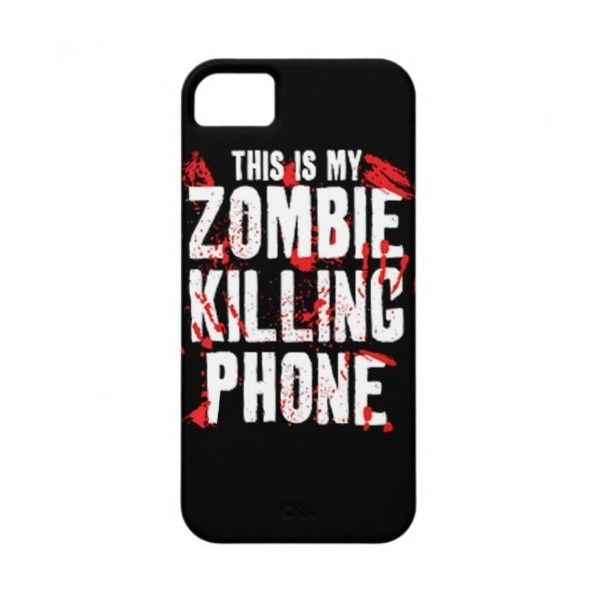 This is my Zombie killing Phone keep calm and kill iPhone 5 Covers ($40) ❤ liked on Polyvore featuring accessories, tech accessories, phone cases, phones, iphone cases, phone covers, apple iphone cases and iphone cover case
