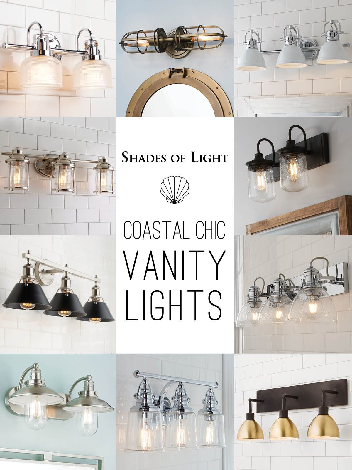 coastal vanity lights master bath