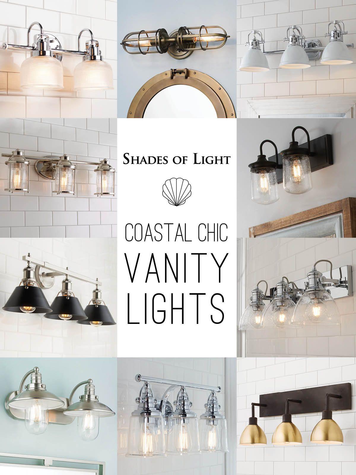 Coastal Vanity Lights Master Bath Design Boho Bathroom Coastal Modern Farmhouse Coastal bathroom light fixtures