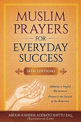 Muslim Prayers For Everyday Success Check This Awesome Product