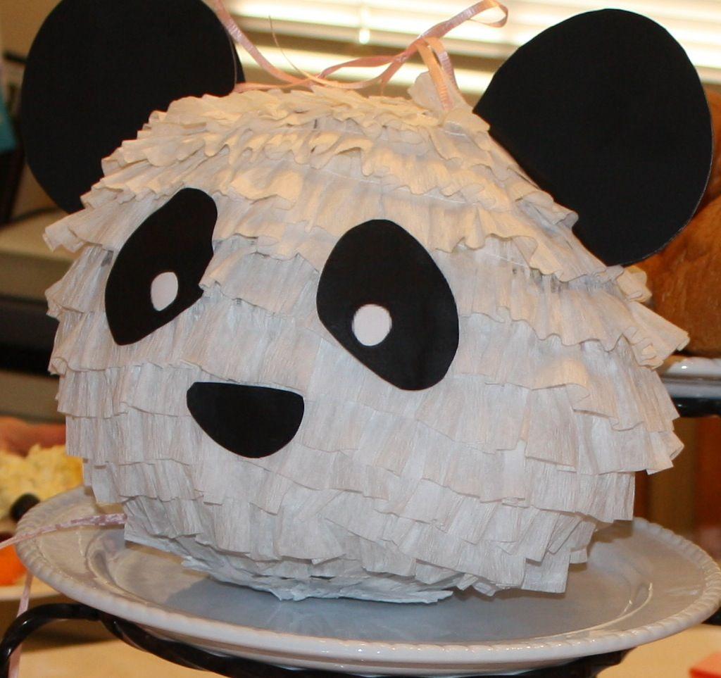 panda pinata pinatas i 39 ve made pinterest panda birthdays and panda birthday. Black Bedroom Furniture Sets. Home Design Ideas