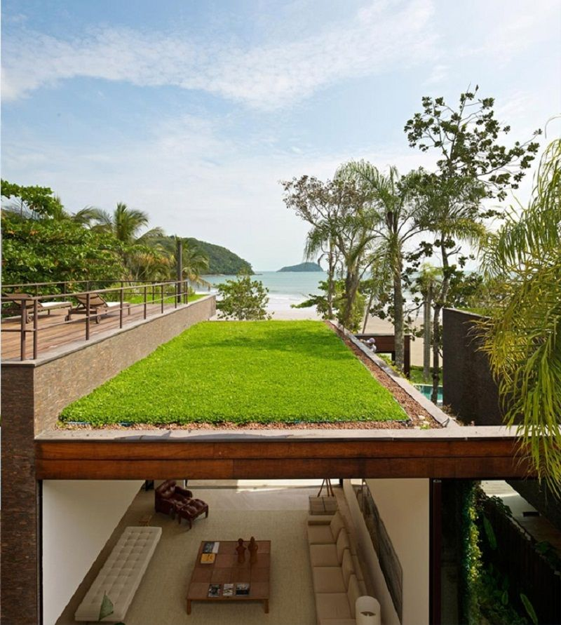 Green Roof Design Pictures Ideas For Home And City Modern