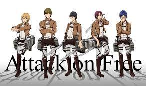 Free! - Attack On Titan crossover