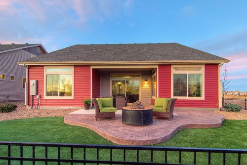 The Riviera Traditional Patio Denver Oakwood Homes