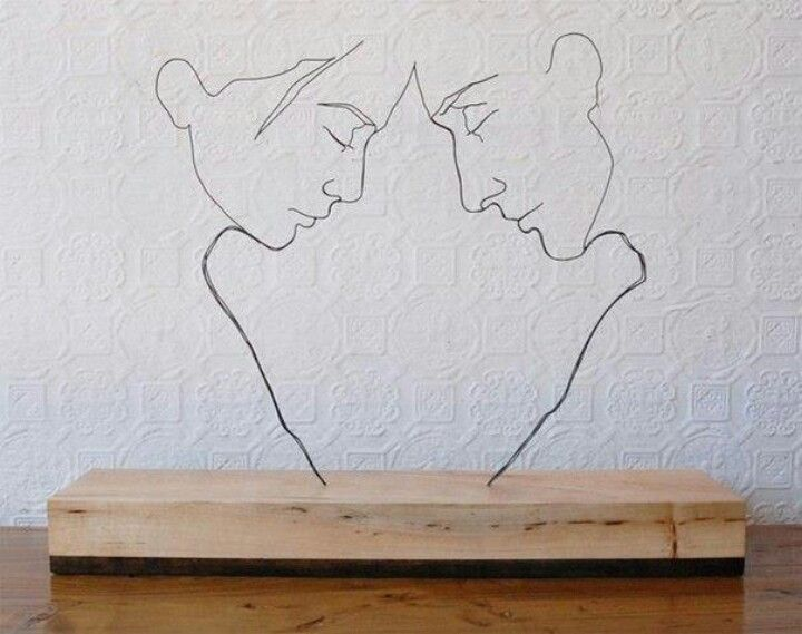 Wire art do it yourself pinterest wire art and diy things diy things wire art solutioingenieria Images