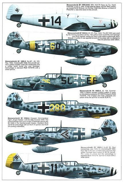 Bf 109 G, G12 and K variants (7) | Flickr - Photo Sharing!