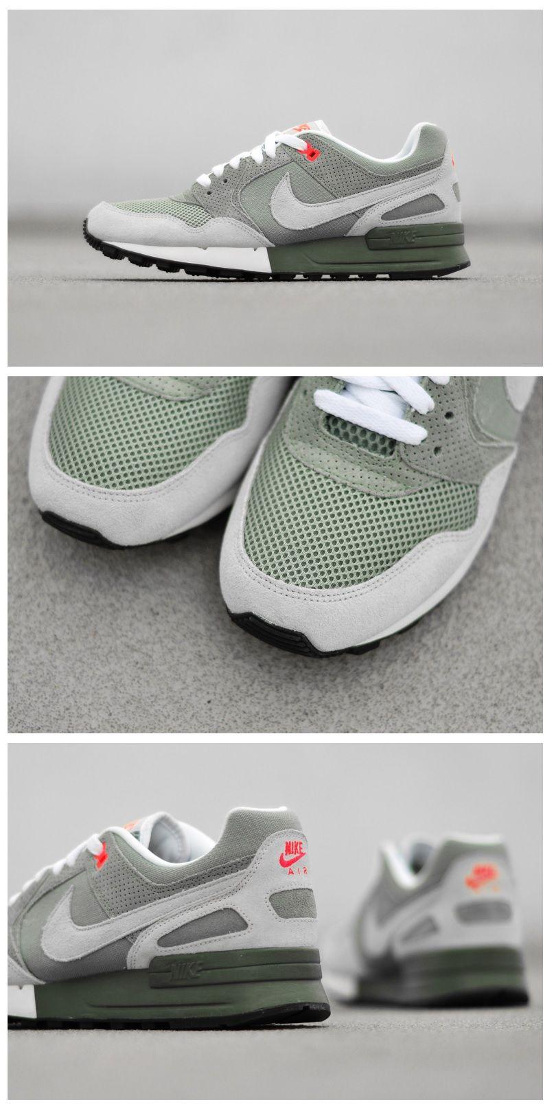 Nike Air Pegasus 89: Mica GreenGrey | Sneakers men, Leather