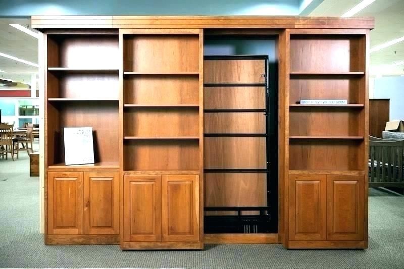 bookcase murphy bed revolving bookcase bed bookcase wall