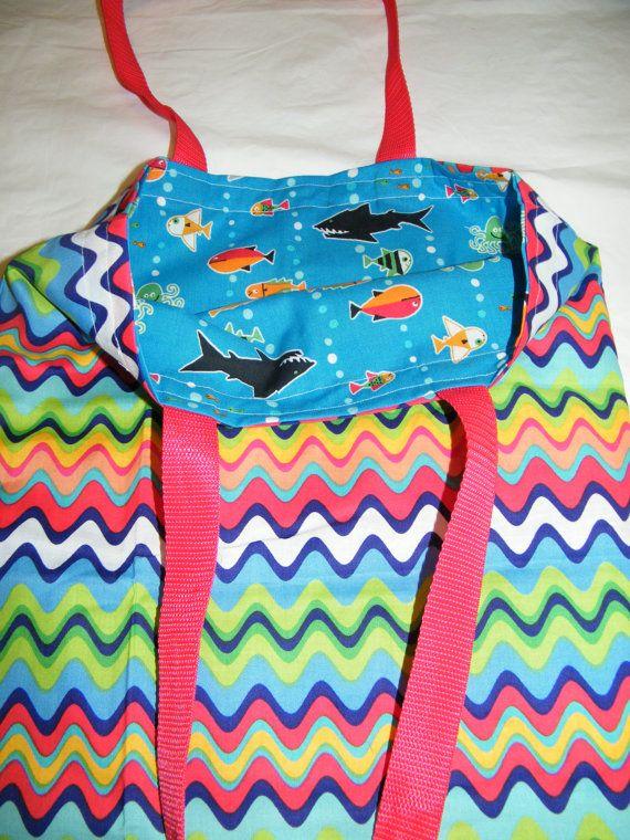 Reversible Tote Bag by SewCharlene on Etsy, $15.00