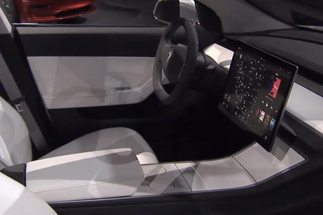 2017 Tesla Model 3 interior | TESLA | Pinterest