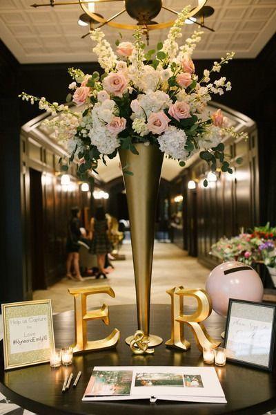 38 Amazing Gold Wedding Decorations Ideas