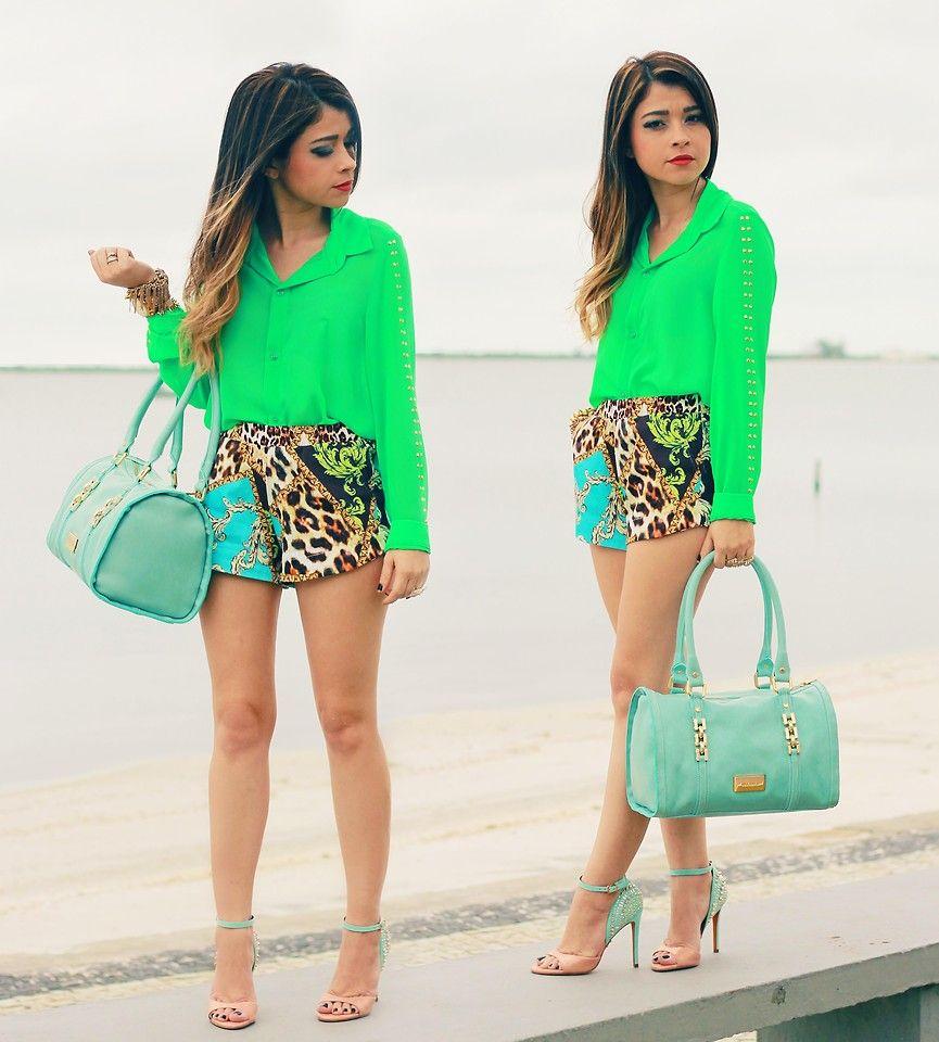 Leticia O. - Green Look