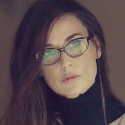 d6d56096a52 Demi Moore s cat eye glasses in the movie Blind (2017)  glasses  demimoore   blind  blindmovie