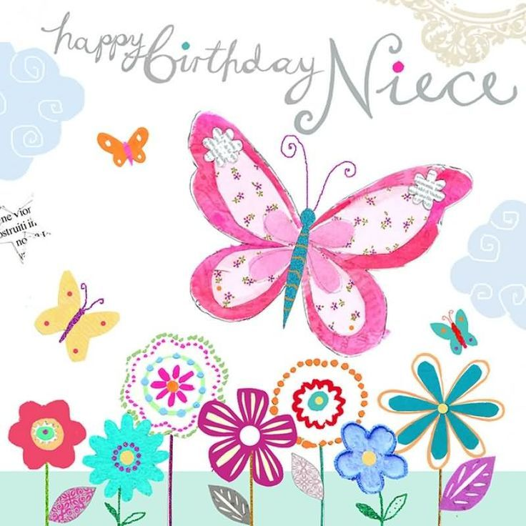 Happy Birthday Page 4 Happy Birthday Pinterest – Birthday Greetings Niece