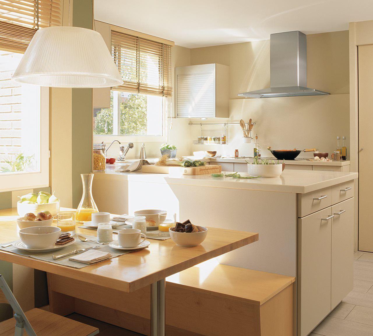 Los 9 mejores dise os de cocinas office cocinas peque as for Remodelacion de cocinas pequenas