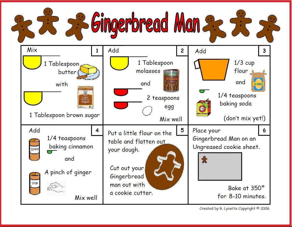 What is a recipe for gingerbread men?