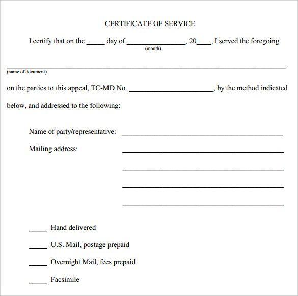 12 Service Certificate Templates Certificate Templates Best