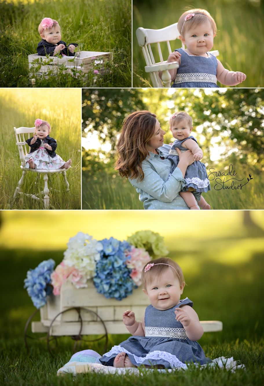 Baby Girl Photoshoot Outdoor : photoshoot, outdoor, Photography, Kansas, Swade, Studios, Spring, Pictures,, Easter, Photoshoot, Baby,, Photos