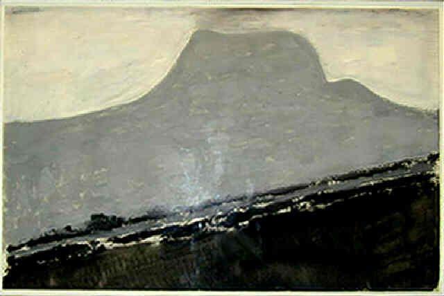 Milton Avery, Grey Mountain