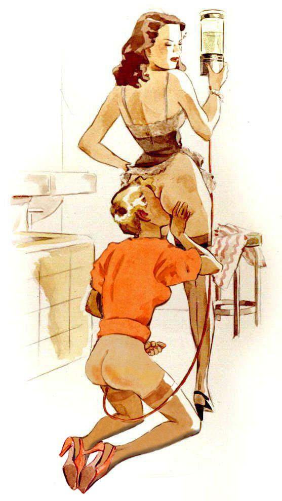 Two boys enjoying one naked girl