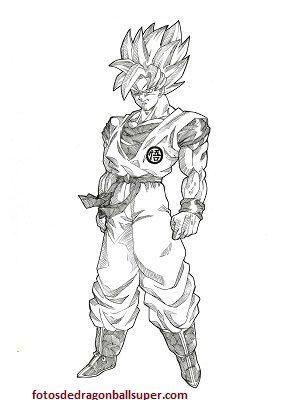 Como Dibujar A Goku Para Principiantes En Cuerpo Completo Paperblog Como Dibujar A Goku Dibujo De Goku Goku A Lapiz