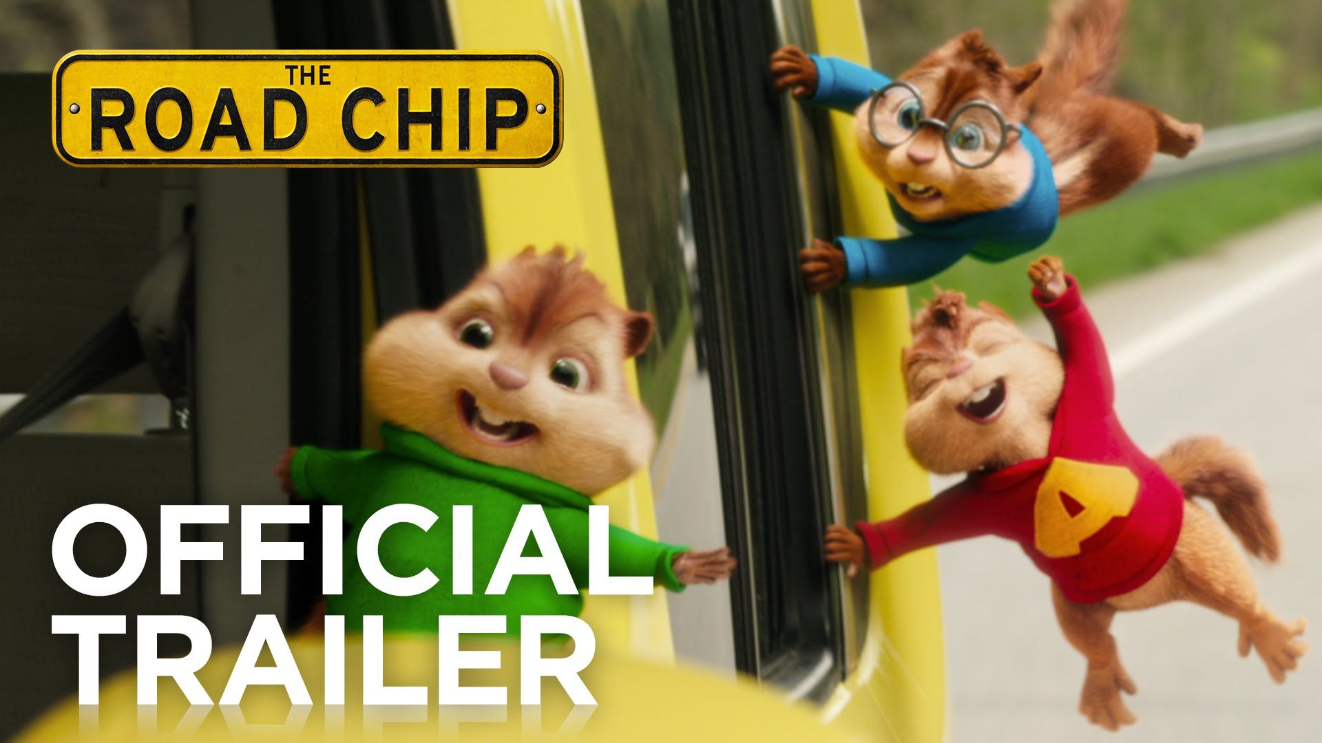 Alvin And The Chipmunks The Road Chip Official Trailer Hd Fox Family Chipmunks Movie Alvin And The Chipmunks Alvin And Chipmunks Movie