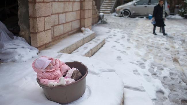 Rare December Snow Blankets Jerusalem (PHOTOS) - weather.com