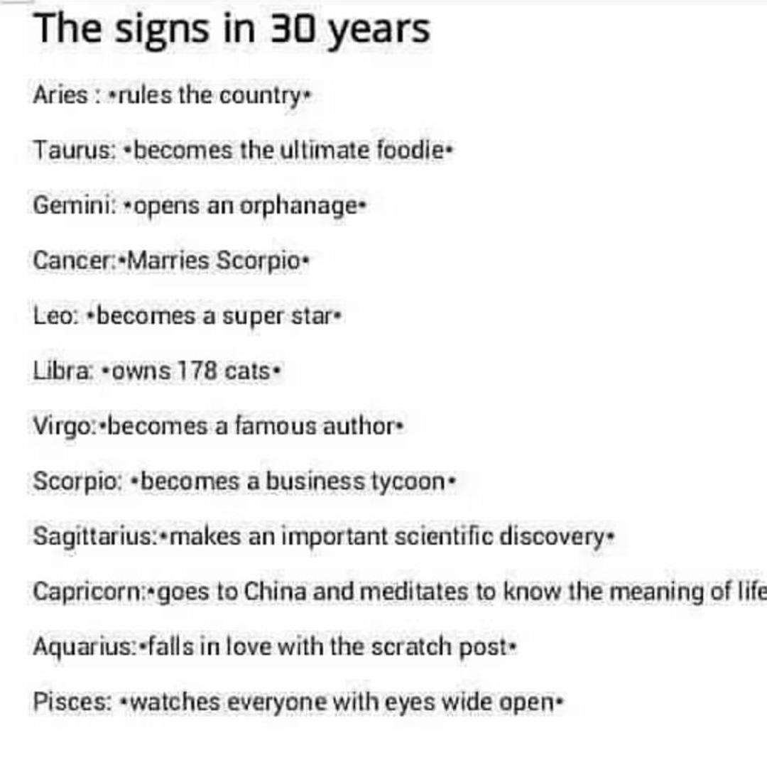 Zodiac signs on snapchat