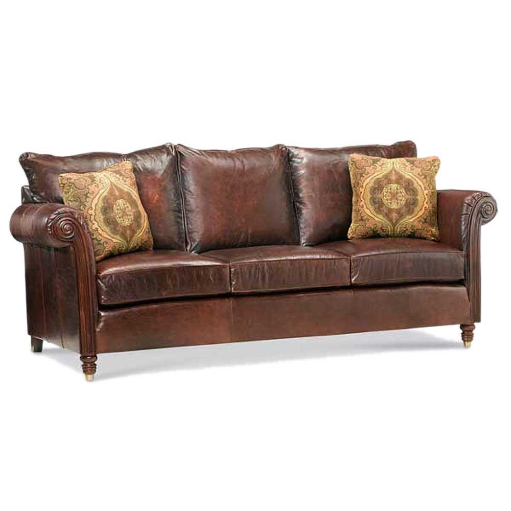 Leather Sofa 1920 Grand River House Farmington Mi