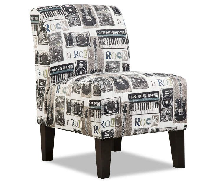 Simmons Rock N Roll Armless Accent Chair