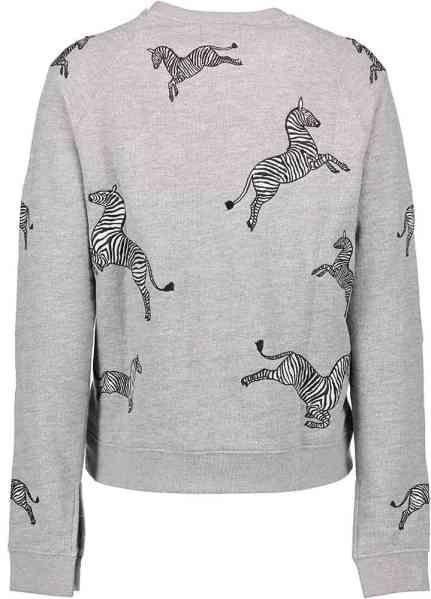 Grijze Trui met Zebras van Zoe Karssen | Grijze trui, Trui