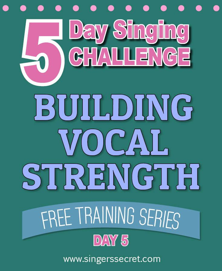 Watch the free singing videos here: http://singerssecret.com/singing-challenge-build-vocal-strength/ #singing #tips #lessons