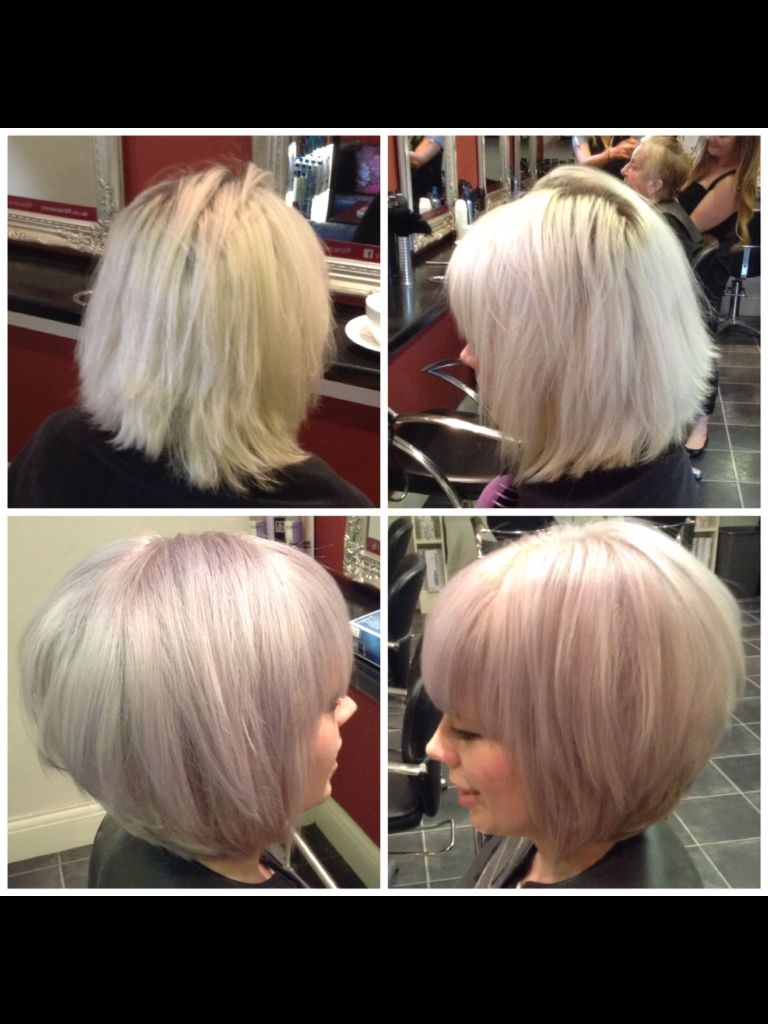 Bob and colour by charlie graue haare pinterest