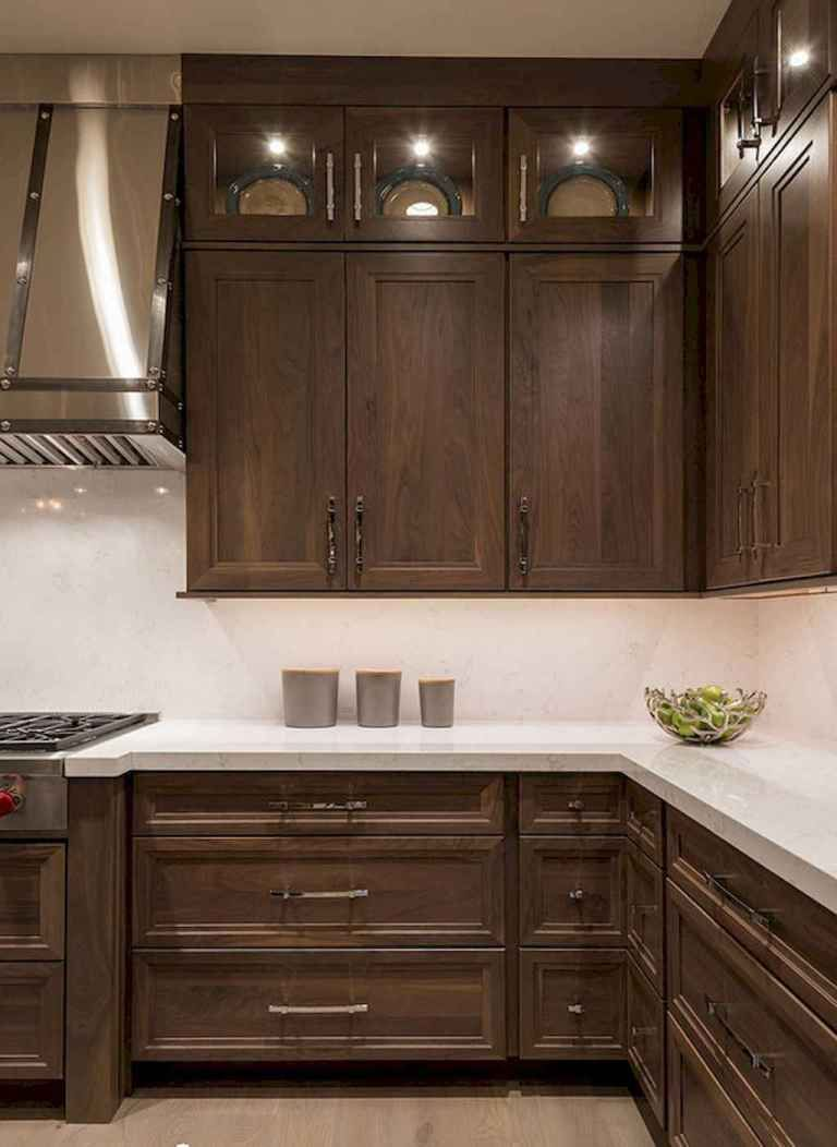 150 gorgeous farmhouse kitchen cabinets makeover ideas 59 home walnut kitchen walnut on farmhouse kitchen maple cabinets id=19652