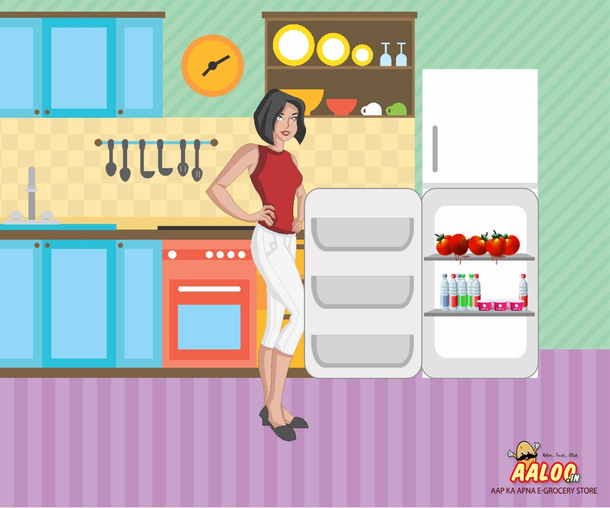 "DON""T refrigerate your tomatoes as tomatoes are the most dramatically damaged by chilling injury. #Aaloology"