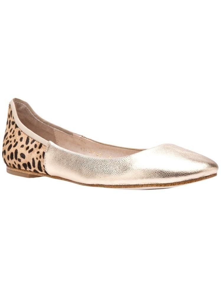 BLACK jungle mix ballet #flats #shoes $98