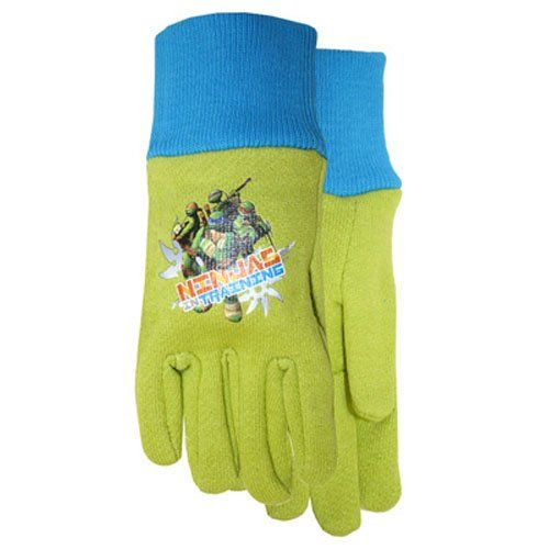 Shop MidWest Quality Gloves, Inc. Nickelodeon Teenage Mutant Ninja Turtles  Childrenu0027s Jersey Gloves At Loweu0027s Canada. Find Our Selection Of Garden  Gloves At ...